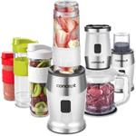SM3391 smoothie maker + chopper + mlynček 700 W WHITE 2 x 570 ml + 400 ml
