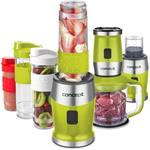SM3393 smoothie maker + chopper + mlynček 700 W zelená 2 x 570 ml + 400 ml